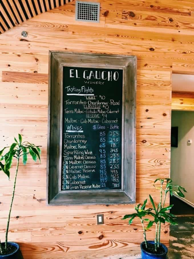 El Gaucho Winery in the Texas Hill Country
