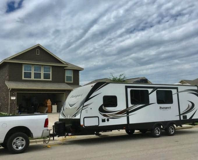 Full time rv life: moving our stuff from the house to travel trailer