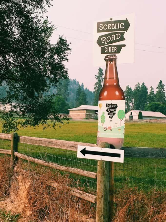 Scenic Road Cider Company in Kelowna, B.C.