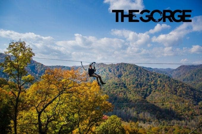 The Gorge Zipline outside of Asheville North Carolina