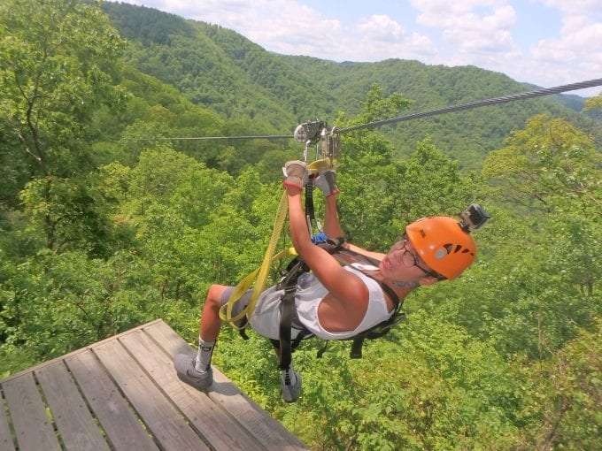 Looking for an Outdoor Adventure in Asheville? The Gorge Zipline is it