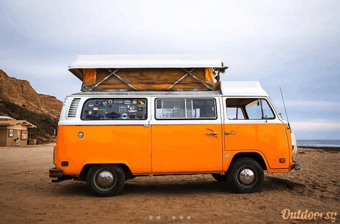 Camper Van Rental Santa Barbara CA