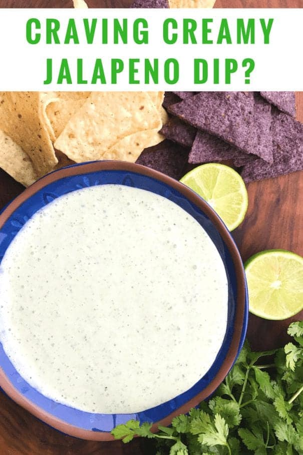 Creamy Jalapeno Dip Recipe - Chuy's copy cat recipe