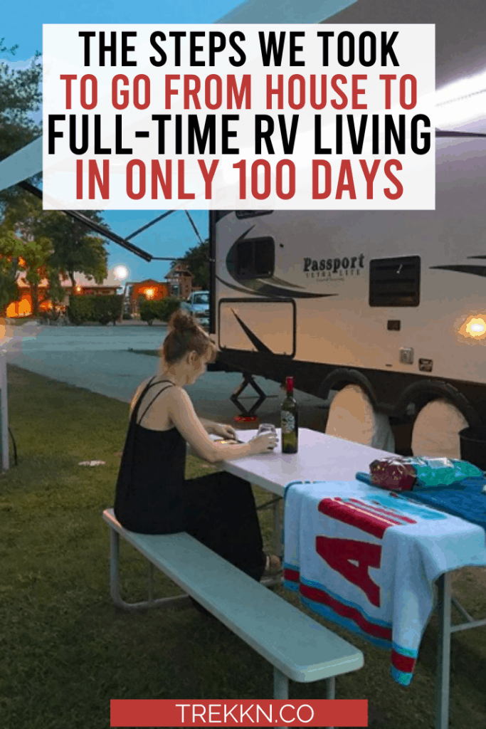 Full-Time RV Living Steps