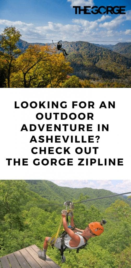 The Gorge Zipline in Asheville North Carolina