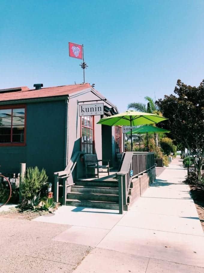 Kunin Wines in Santa Barbara California