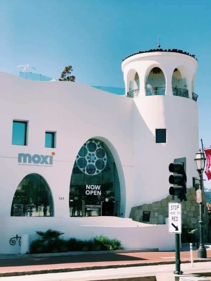 The MOXI Museum in Santa Barbara, CA