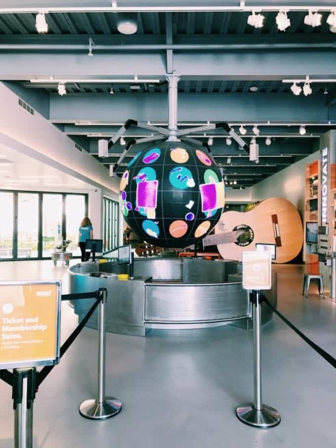 Inside the MOXI Museum in Santa Barbara CA