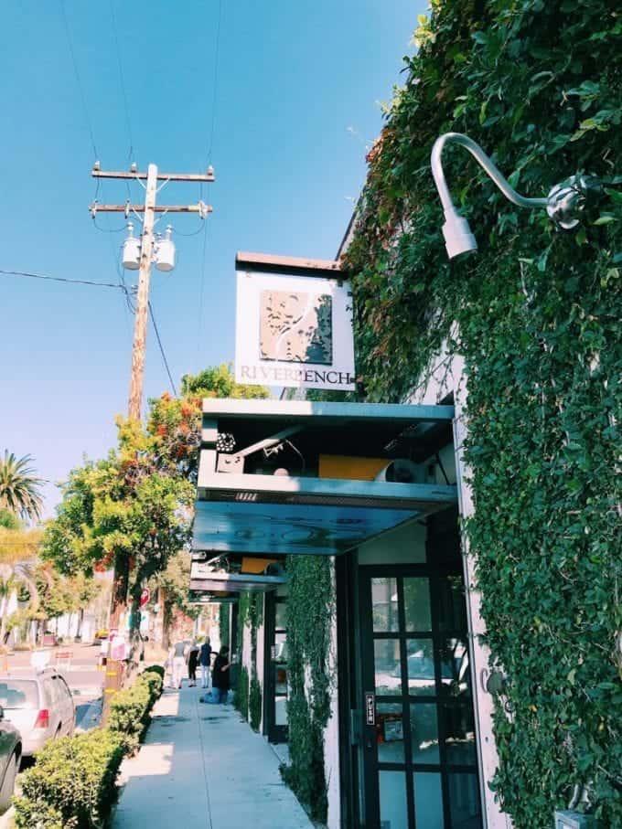 Riverbench wine tasting room in Santa Barbara California