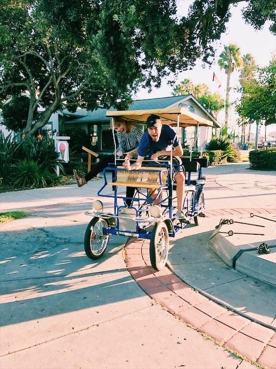 Rent a surrey to see the city of Santa Barbara California