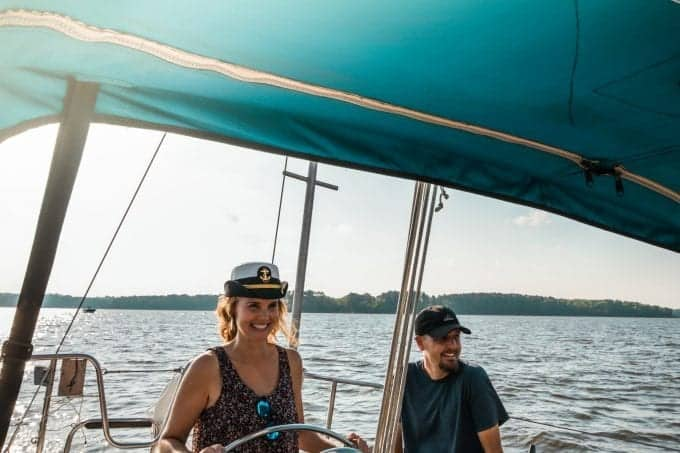 Chesapeake Bay Sailing on the Non Sea-Quitter