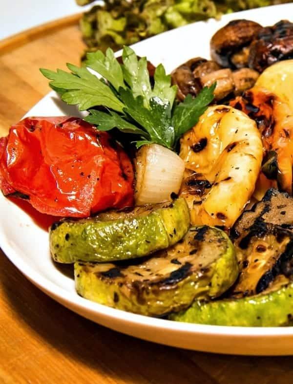 grilled foil packet vegetables