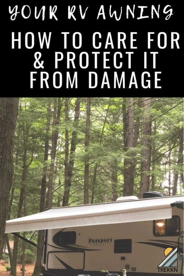 What to do to prevent the pain of RV awning replacement