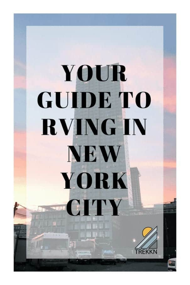 Your guide to RVing in New York City