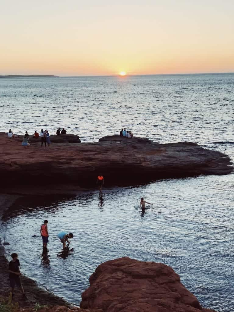Grab one of PEI's gorgeous sunsets