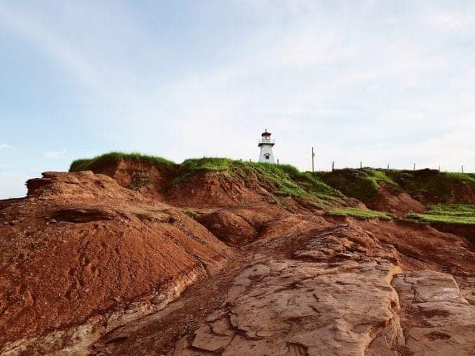 Cape Tryon Lighthouse in PEI