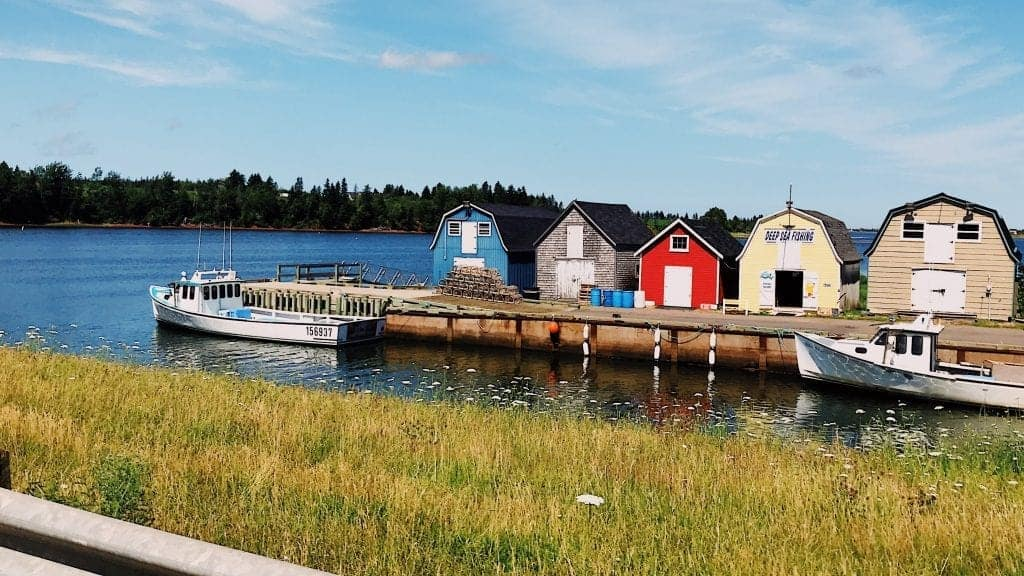 PEI is full of gorgeous colorful houses