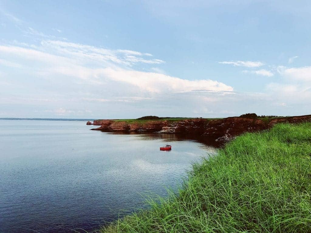 Get this view just minutes from several PEI campgrounds.