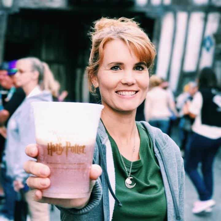 Butter beer at Universal Studios