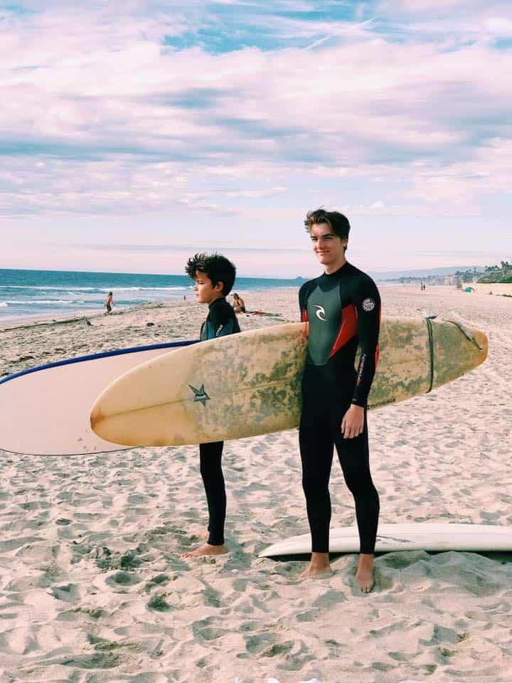 Surfboard rentals San Diego