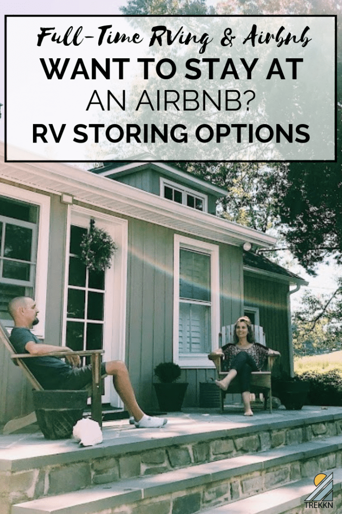 Where to store your RV if you want to stay at an Airbnb
