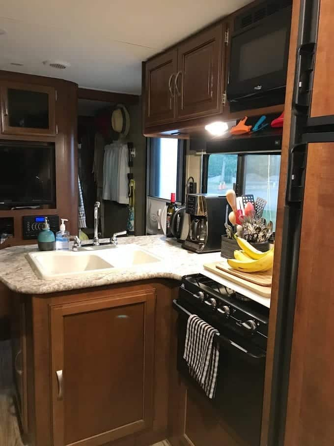 RV kitchen accessories considered must-haves for this full-time RVer