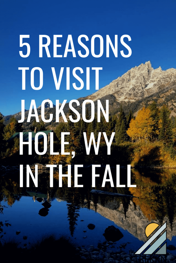 5 reasons to visit Jackson Hole, Wyoming in the fall