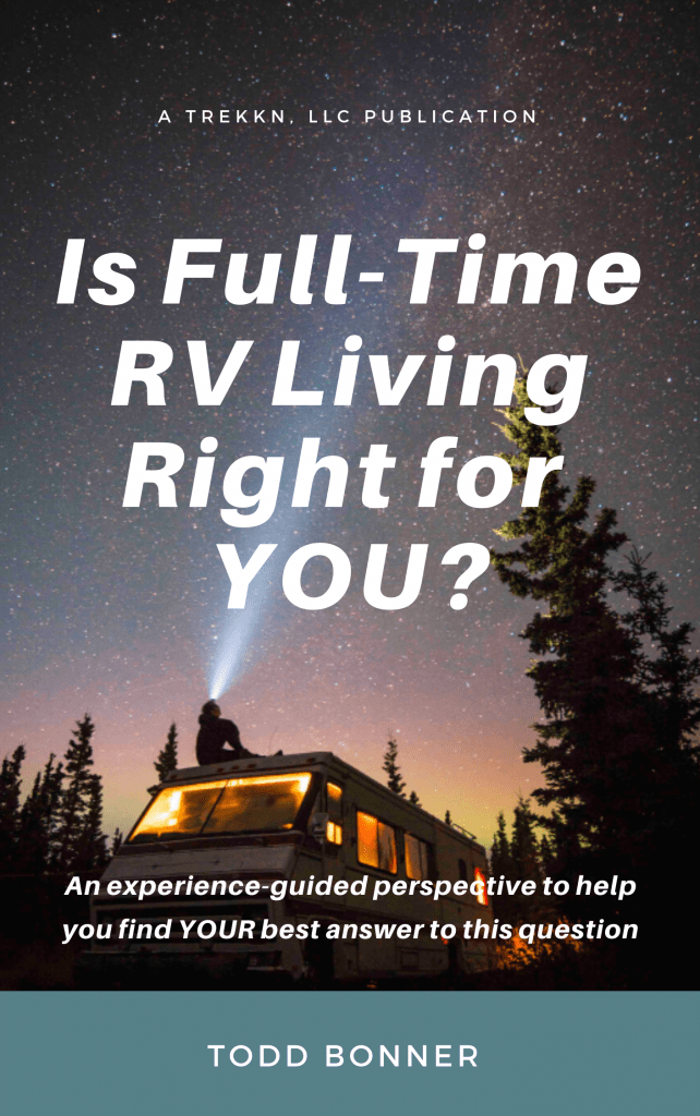 "Book Cover for ""Is Full-Time RV Living Right for YOU?"""
