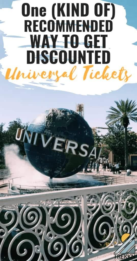 How to get cheap Universal Studios tickets