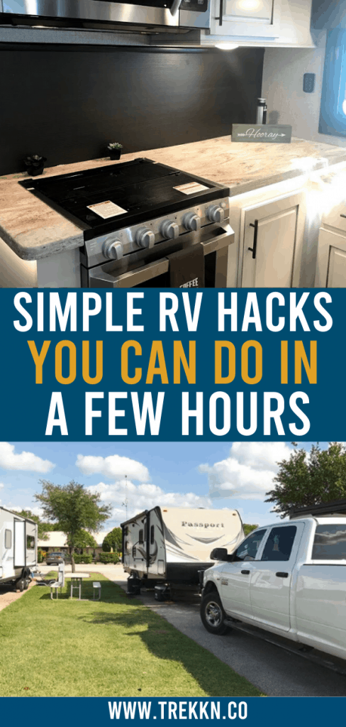 Simple and Easy RV Hacks