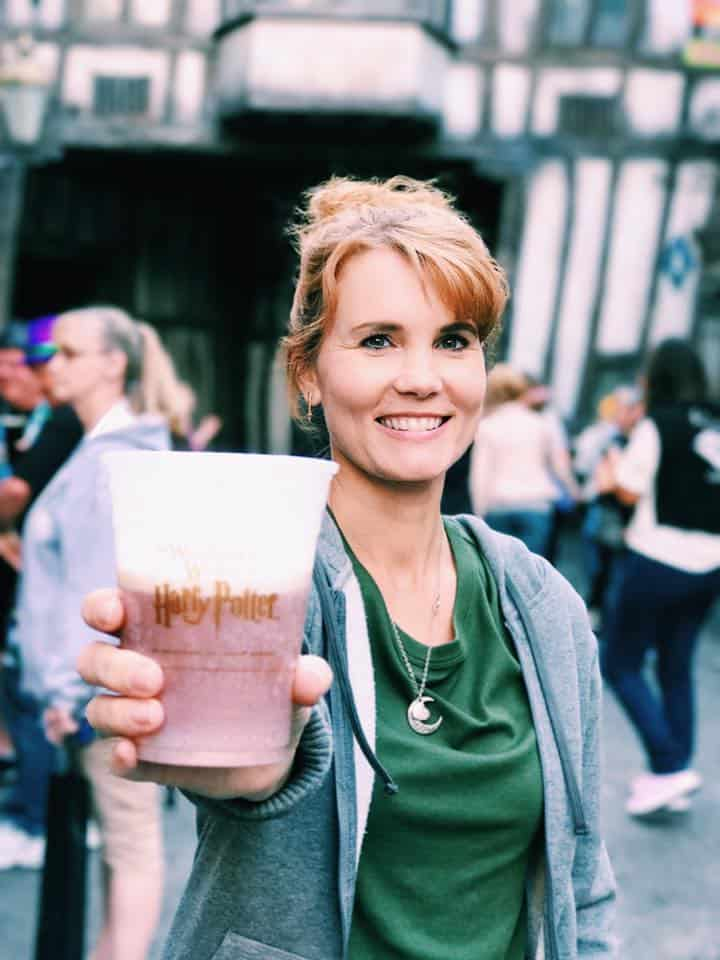 Butter Beer from Universal Studios Orlando