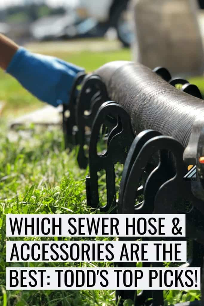 Finding the best RV sewer hose for your rig
