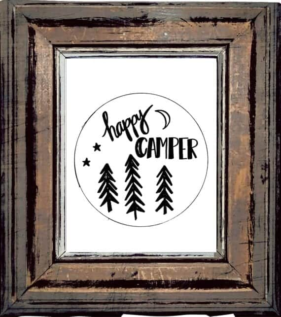 Happy Camper Decor