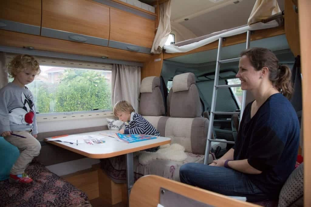 Tips for renting an RV online for a family vacation
