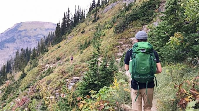 Hiking the Highline Trail in Glacier National Park