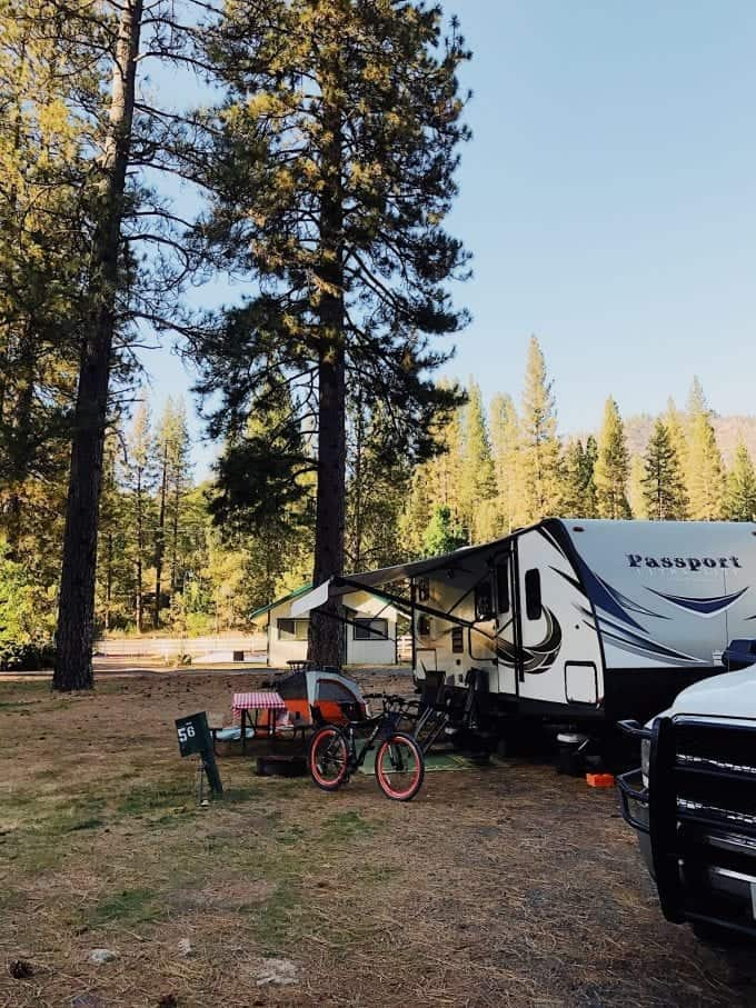 One of our favorite Thousand Trails Campgrounds - Yosemite Lakes