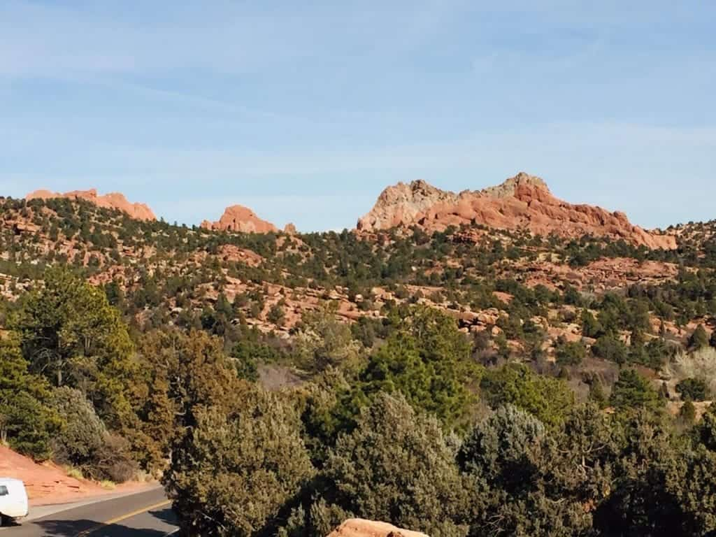 Garden of the Gods in Spring