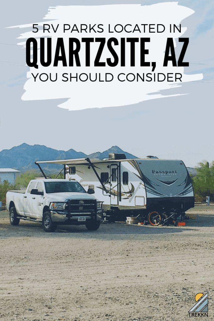 5 Quartzsite RV Parks to consider staying at while you're there