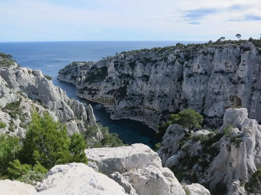 Calanques National Park in France