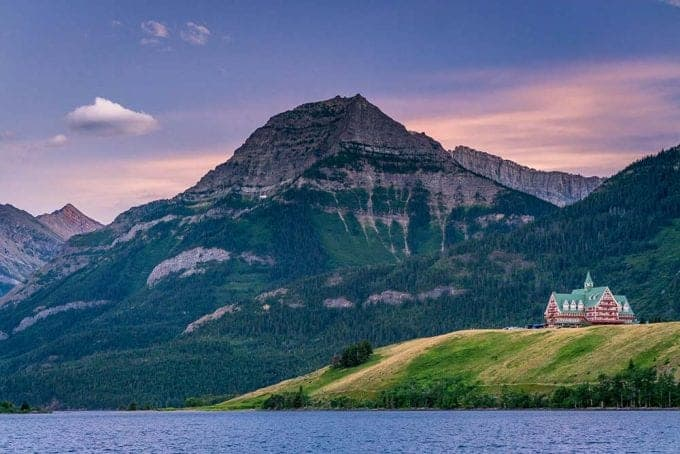 Waterton Lakes National Park in Canada