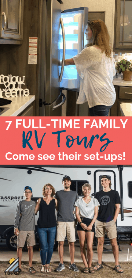 Full time family rv tours