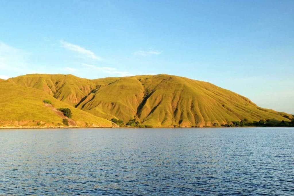 Komodo National Park in Indonesia