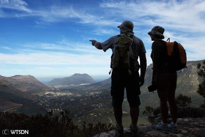 Hiking Constantia Nek, Cape Town