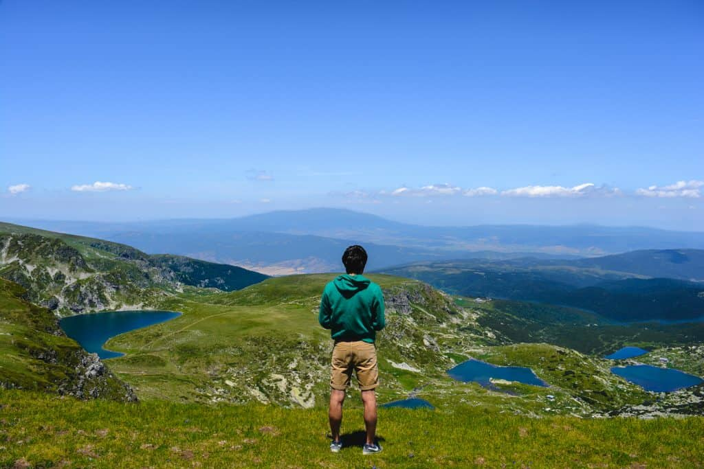 Seven Rila Lakes View