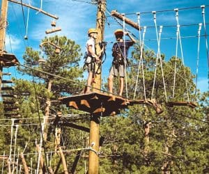 Treehouse adventure park in bailey colorado