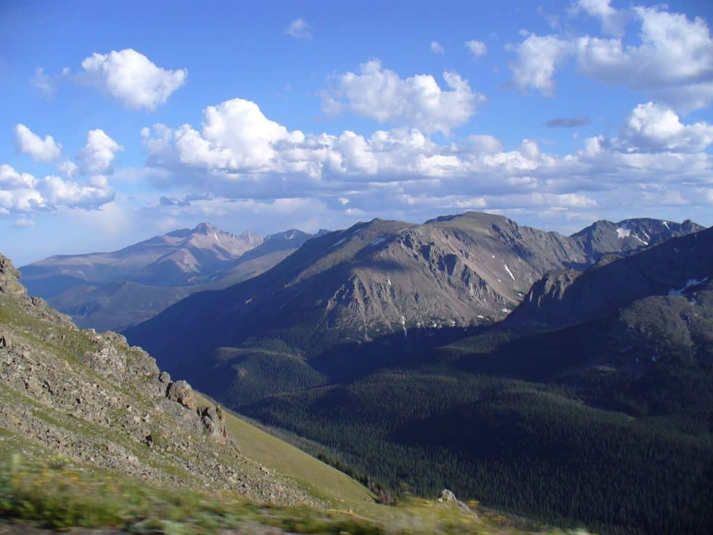 Rocky Mountain National Park Overlook