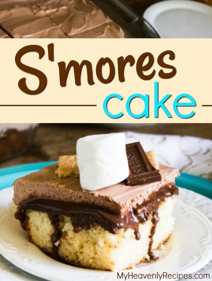 S'mores Poke Cake Recipe