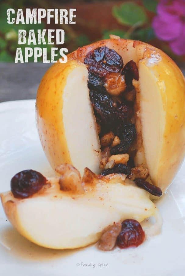 Campfire Desserts - Baked Apples