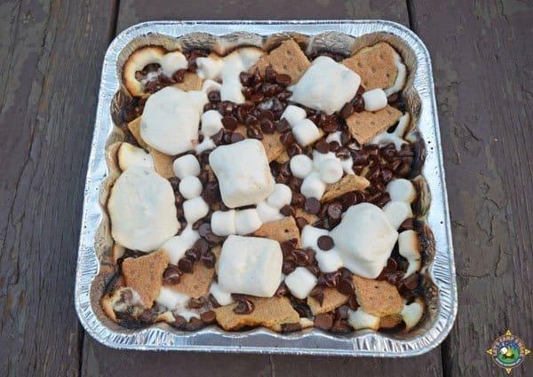 Campfire Desserts - S'mores Nachos