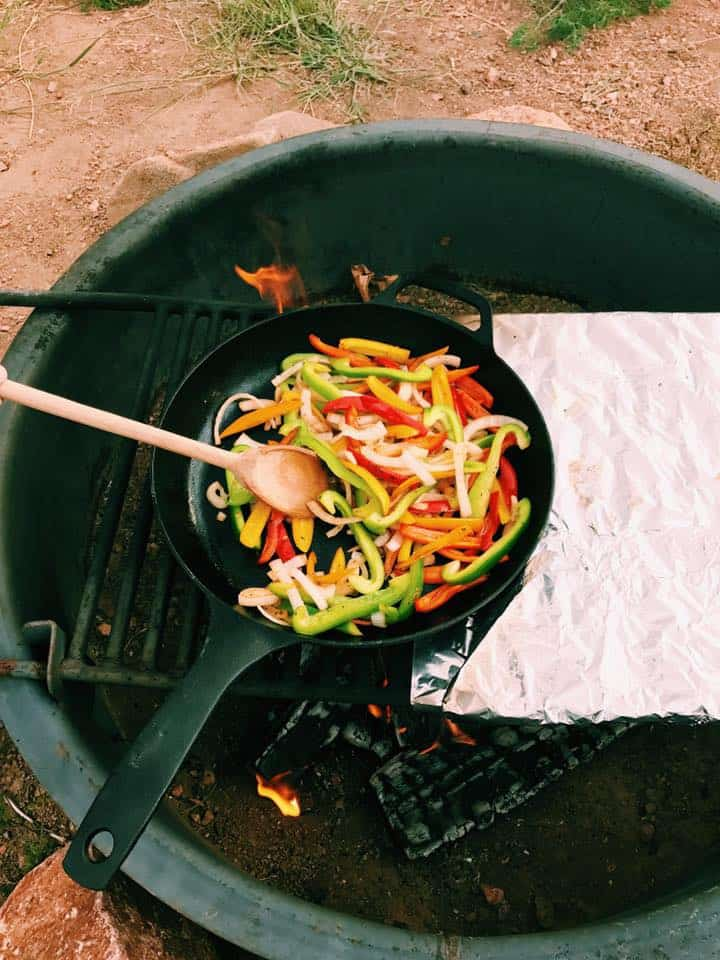 Cast Iron Skillet Camping Recipes